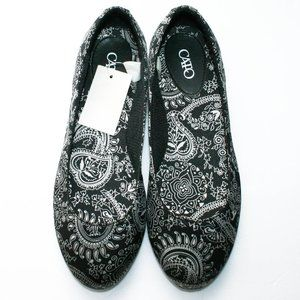 New! Cato Women's Flat Printed Shoes Sz: 9